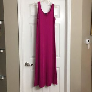 Beautiful vintage Ralph Lauren pink maxi dress